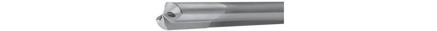 Logo Typ 120 - Zweilippenbohrer mit Bohrkopf aus Vollhartmetall