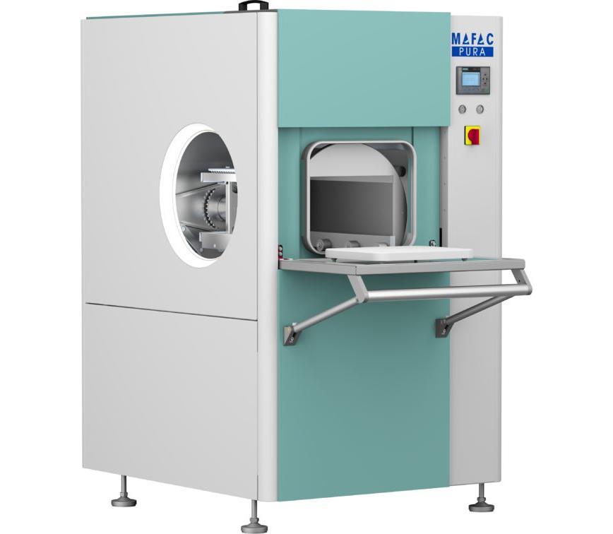 Logo Industrielle Waschmaschine - MAFAC PURA