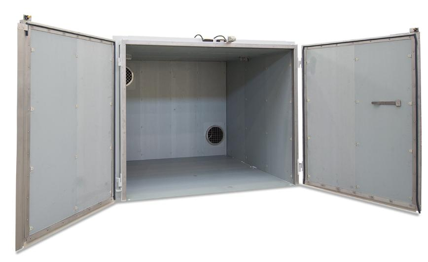Logo Cabinet for drying and heating - Ovens and Chamber Dryers