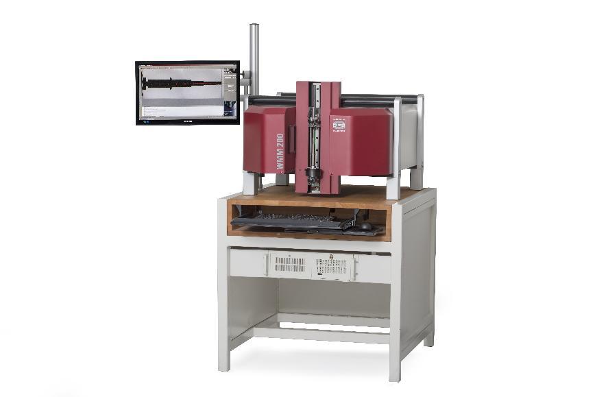 Logo Shaft measuring machine - Shaft measuring machine WMM 100 / WMM 200