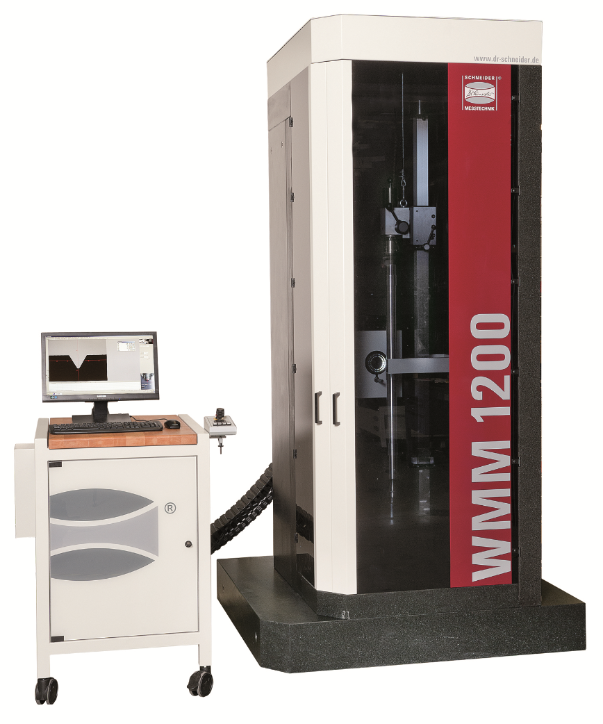 Logo Shaft measuring machine - Shaft measuring machine WMM 600 to WMM 2200