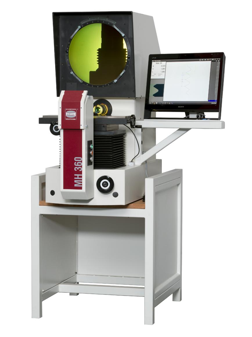 Logo Profile projector - Horizontal measurement projector MH 360