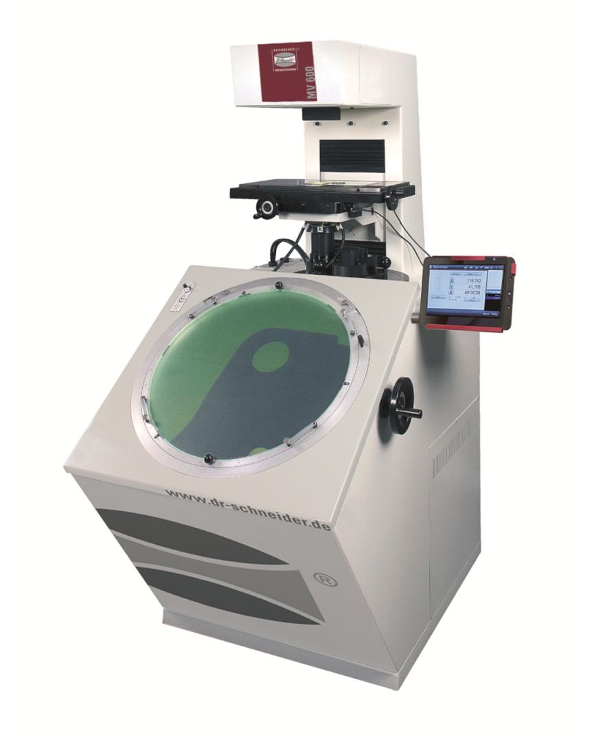 Logo Profile projector - Vertical measurement projector MV 600 in floor-sta