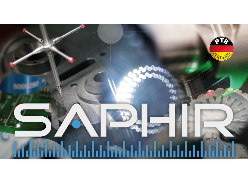 Logo Auswerte- und Analysesoftware - SAPHIR 7 - 3D Messsoftware