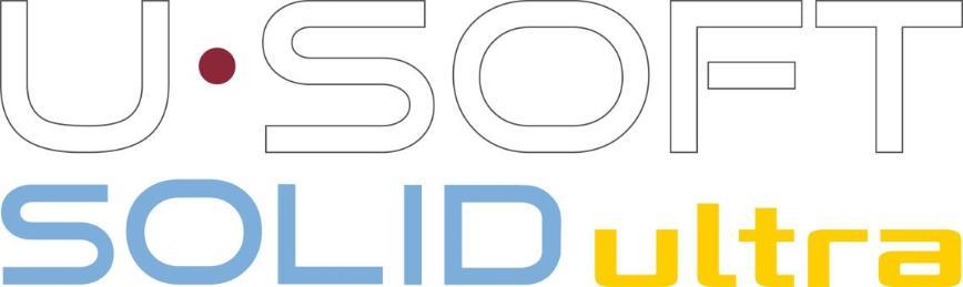 Logo Auswerte- und Analysesoftware - U-SOFT SOLID ultra