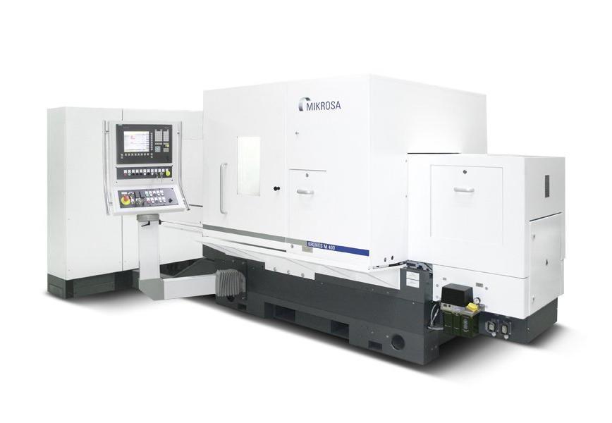 Logo Centreless grinding machine - MIKROSA KRONOS M 400