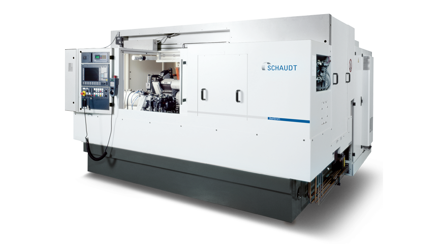 Logo Compact and extremely versatile - SCHAUDT ShaftGrind