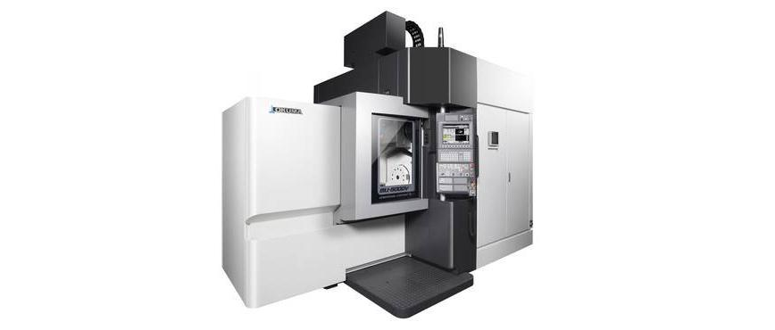 Logo 5-Axis Machines - MU-5000V