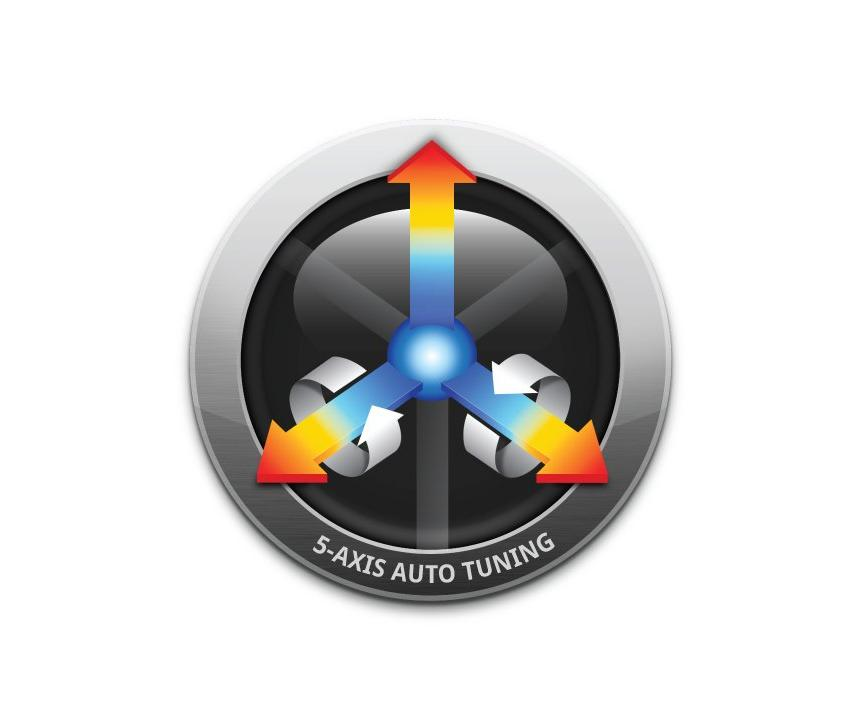 Logo Software für CNC-Steuerungen - 5-Axis Auto Tuning System