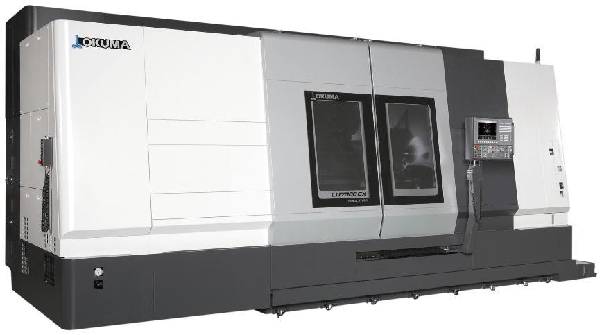 Logo Horizontale Drehmaschine - LU7000 EX