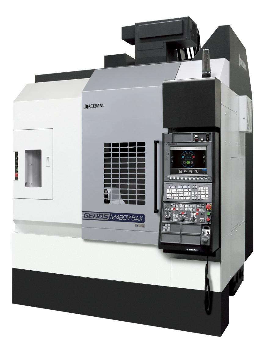 Logo 5-Axis Machines - GENOS M460V-5AX