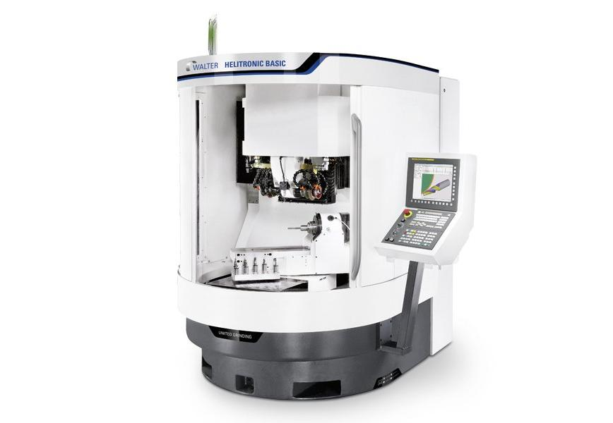 Logo Universal tool and cutter grinding machine - WALTER HELITRONIC BASIC