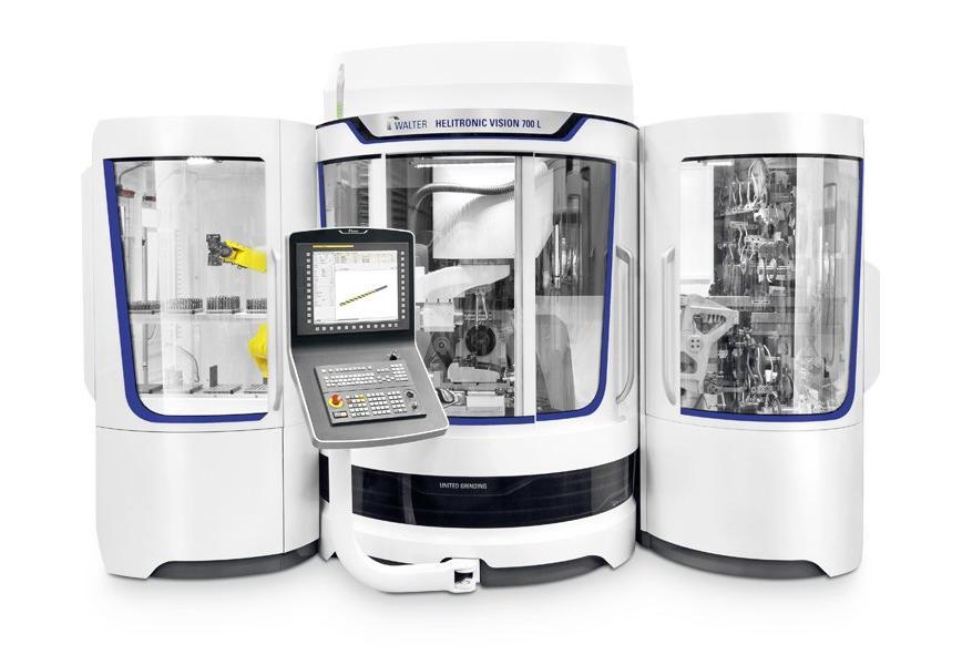 Logo Universal-Werkzeugschleifmaschine - WALTER HELITRONIC VISION 700 L