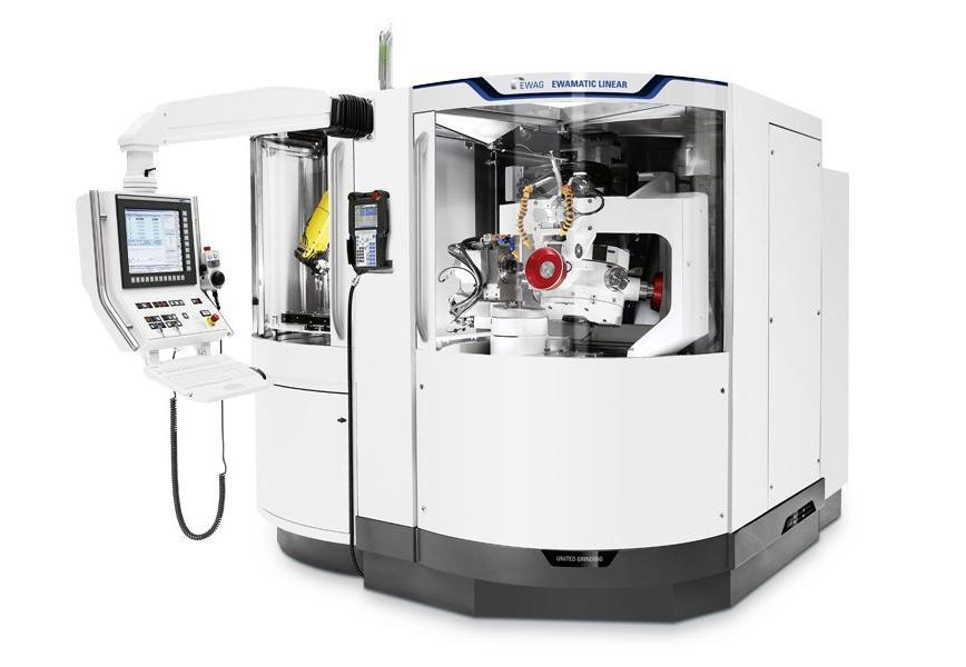 Logo Universal tool and cutter grinding machine - EWAG EWAMATIC LINEAR