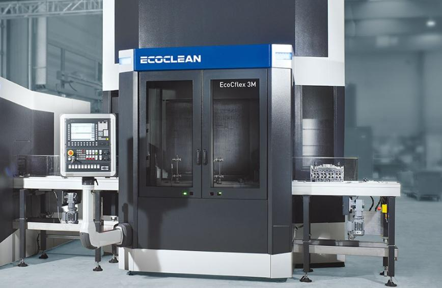 Logo Washing, cleaning and degreasing machine - EcoCflex 3 – Outstanding cl