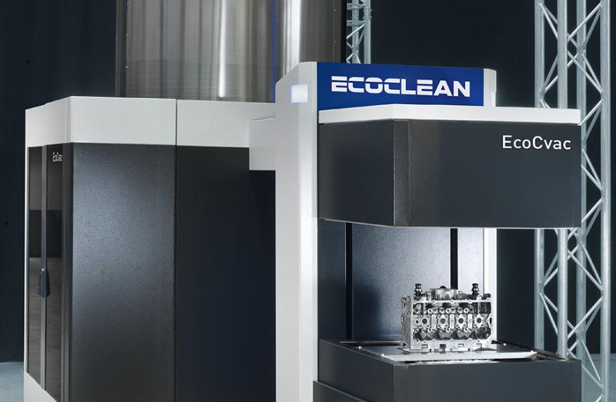 Logo EcoCvac – Fast pre- and intermediate cleaning without compressed air