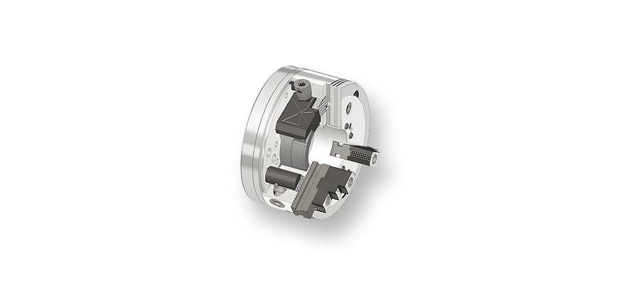 Logo Lathe chuck, hand operated - Jaw chuck B-Top3