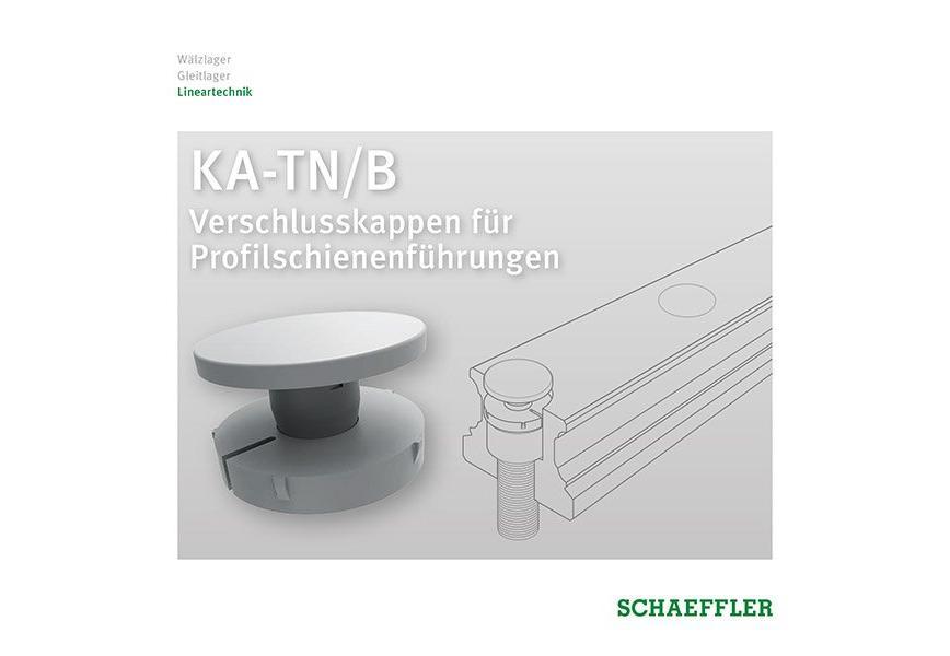 Logo KA-TN/B Verschlusskappen für Profilschienenführungen