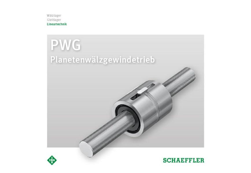 Logo Antriebselement - PWG Planetenwälzgewindetrieb