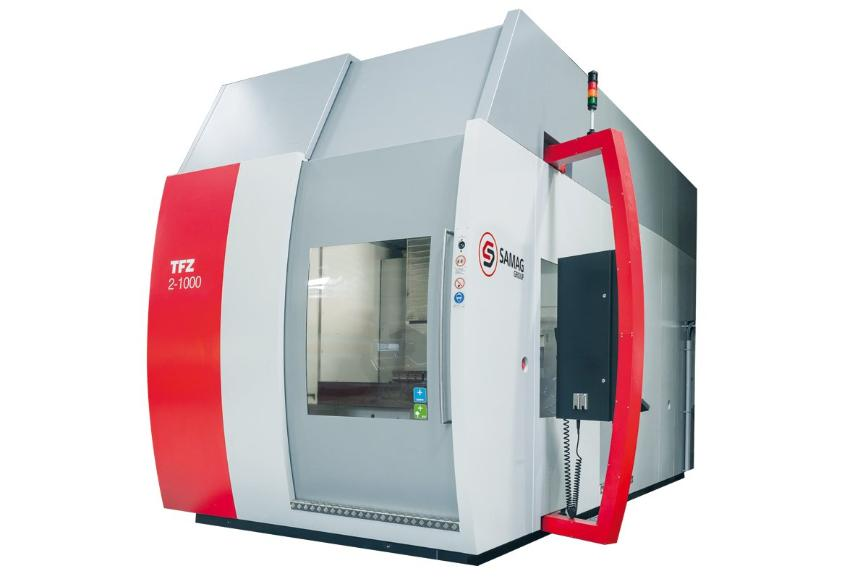 Logo Deep hole-drilling and milling centers - TFZ