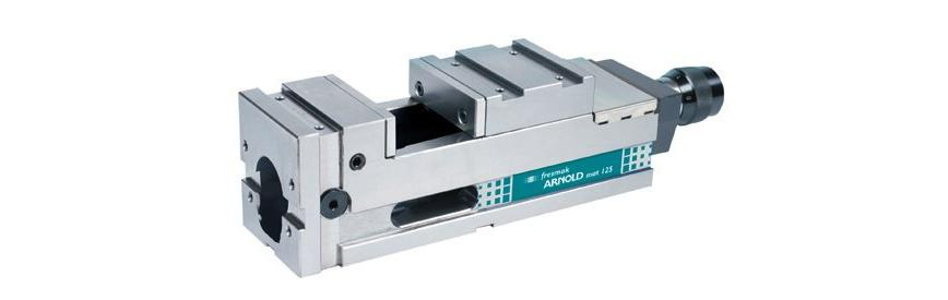 Logo Machine vice - Arnold Mat Mechanical with presetting