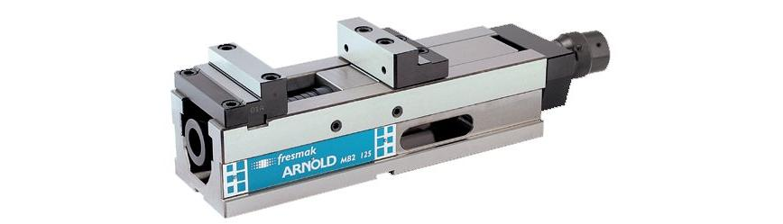 Logo Machine vice - Arnold MB2 Mechanical with pressetting
