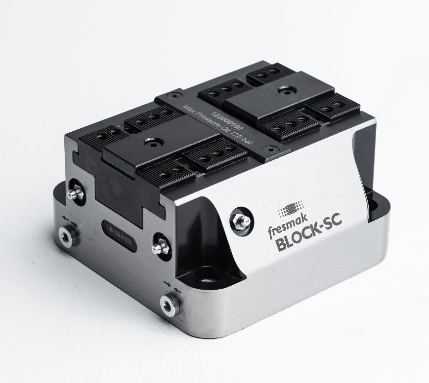 Logo Clamping device, hydraulic - BLOCK-SC 160 Hydraulic