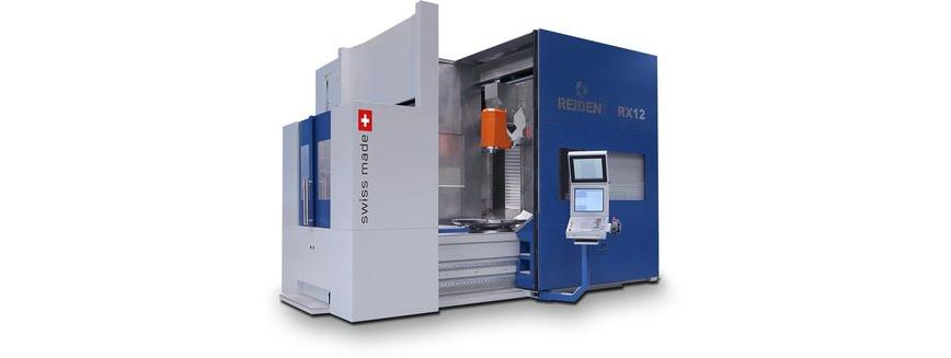 Logo 5-axis machining center - REIDEN RX12