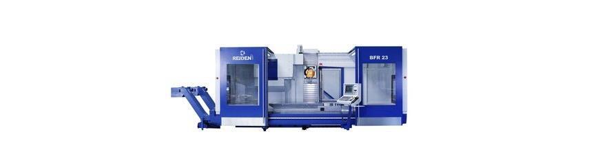 Logo 5-axis machining center - REIDEN BFR2