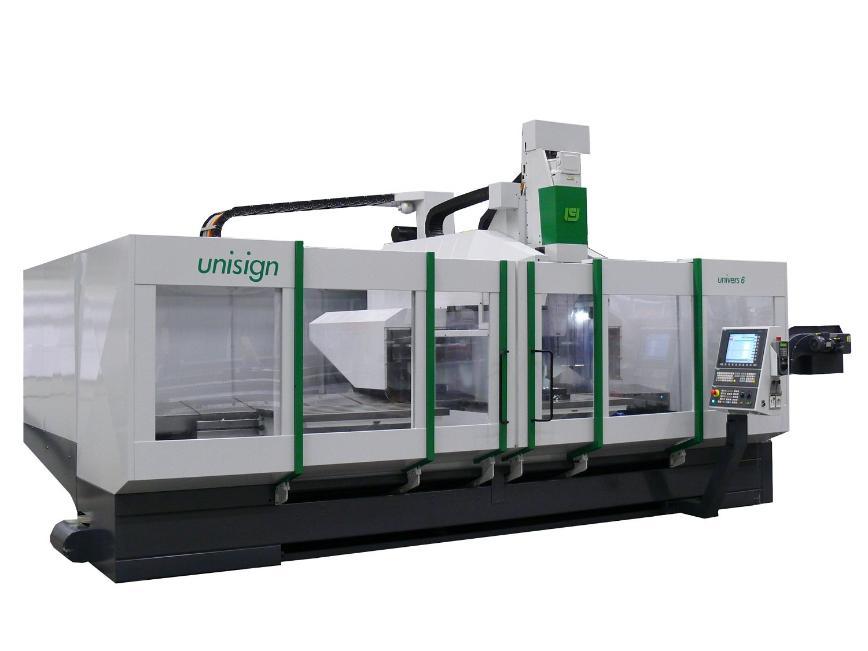 Logo Single column milling machine for long workpieces - Univers 6000