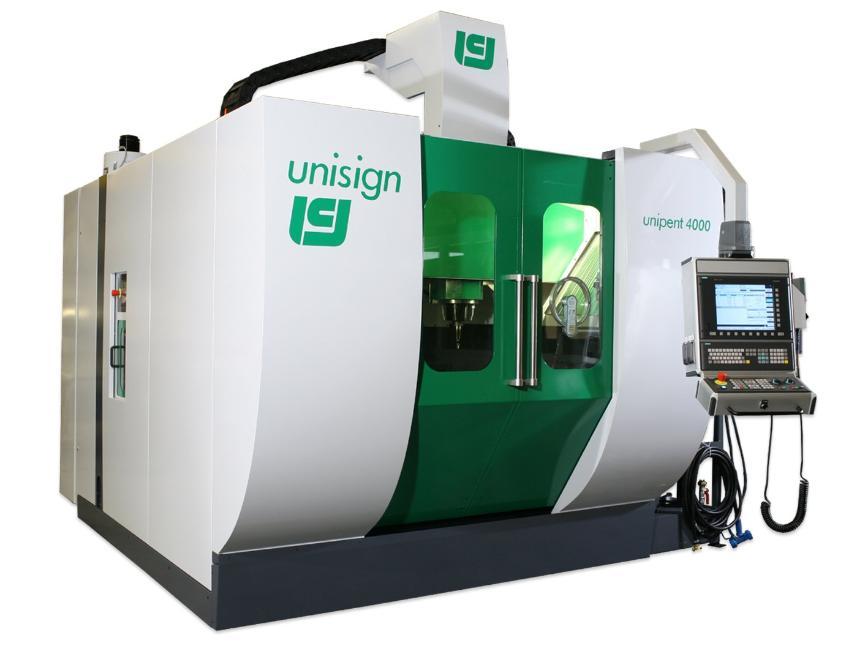 Logo High speed milling machine (HSC) - Unipent 4000 AERO