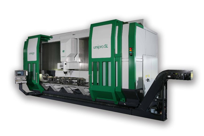 Logo Vertical machining centre - Unipro 5-L