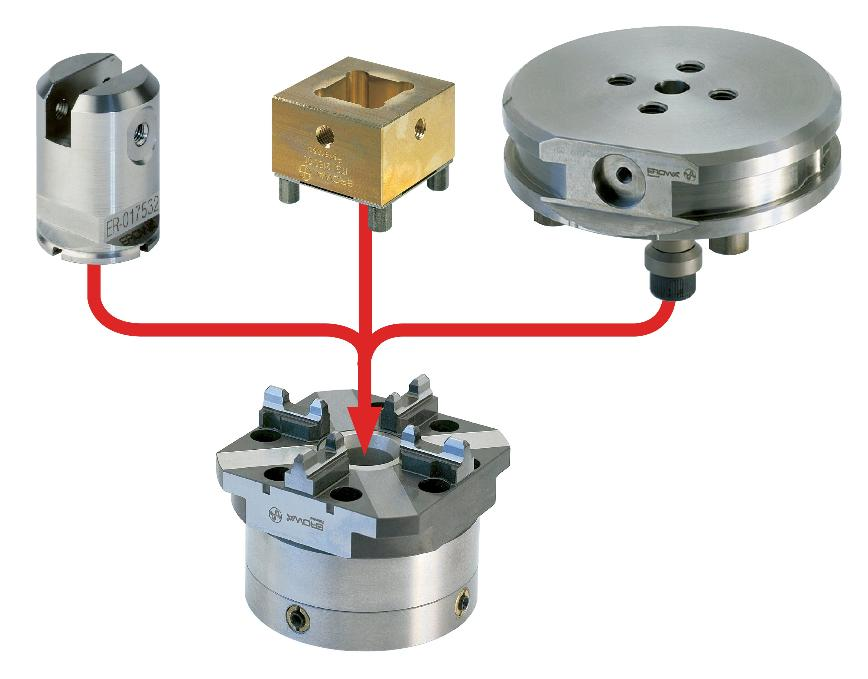 Logo Chucking system - EROWA ITS (Integrated Tooling System)