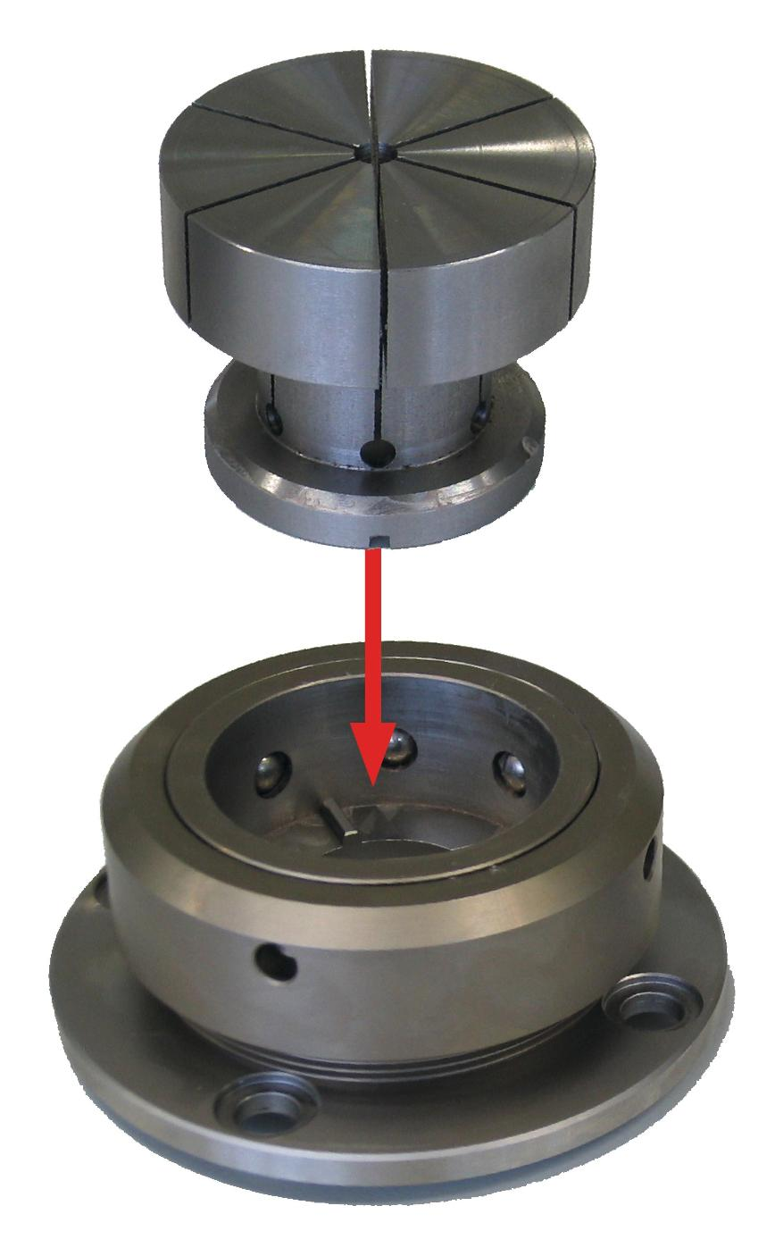 Logo EROWA CTS (Collet Tooling System)