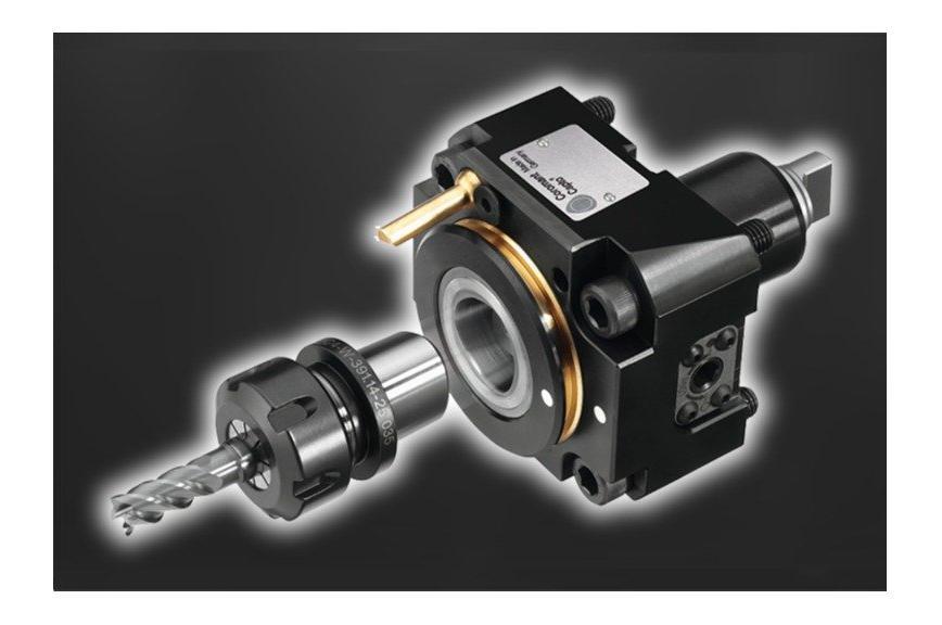 Logo Werkzeugsystem, modular - Coromant Capto® Schnellwechselsystem