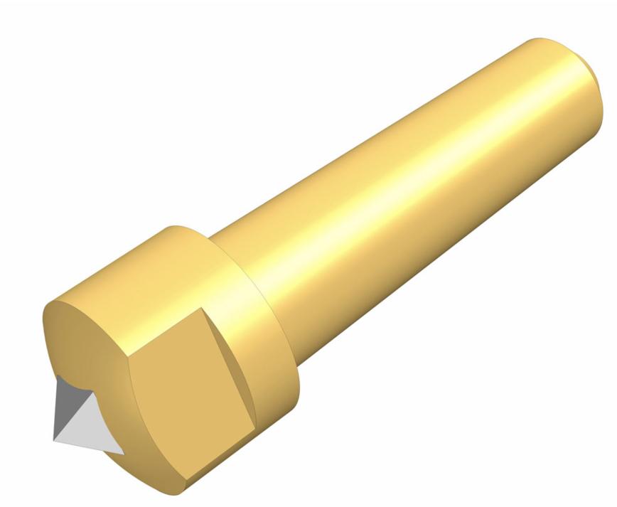 Logo Dressing tool - Profil-Abrichtdiamanten