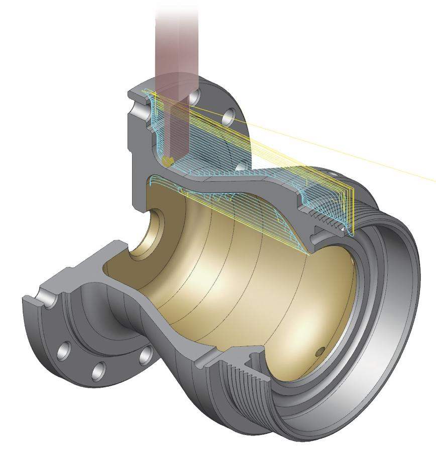 Logo CAD/CAM-Software - Mastercam Drehen Entry