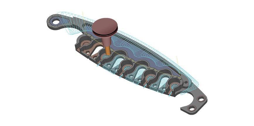 Logo CAD/CAM-Software - Mastercam Fräsen Entry