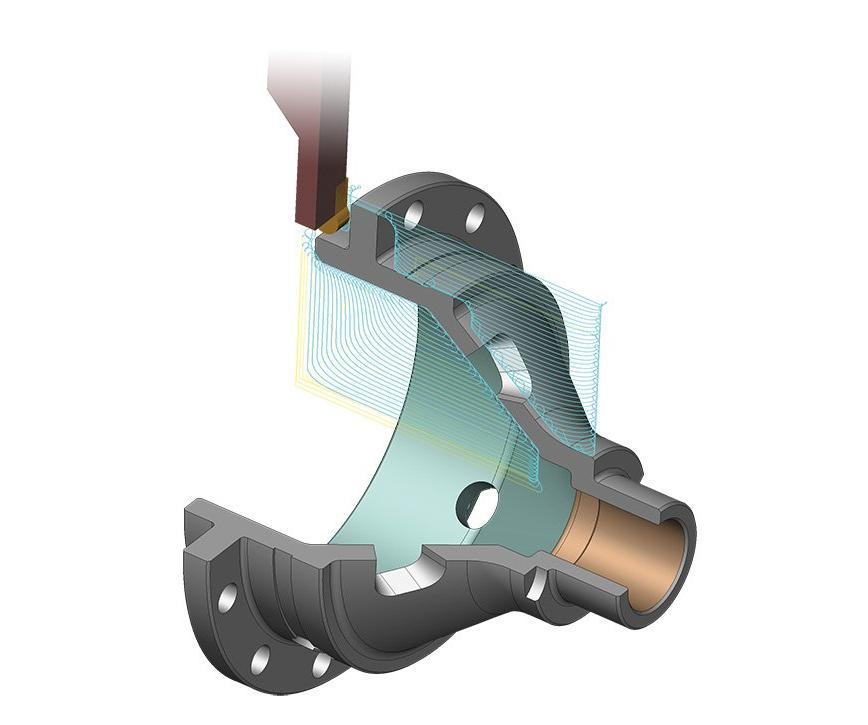 Logo CAD/CAM-Software - Mastercam Drehen