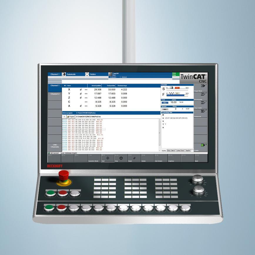 Logo CNC-Programmiersystem - PC-based Control für die CNC-Bearbeitung