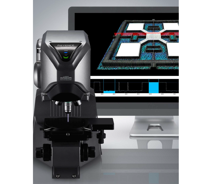 Logo 3D Laser Scanning Confocal Microscope / VK-X Series