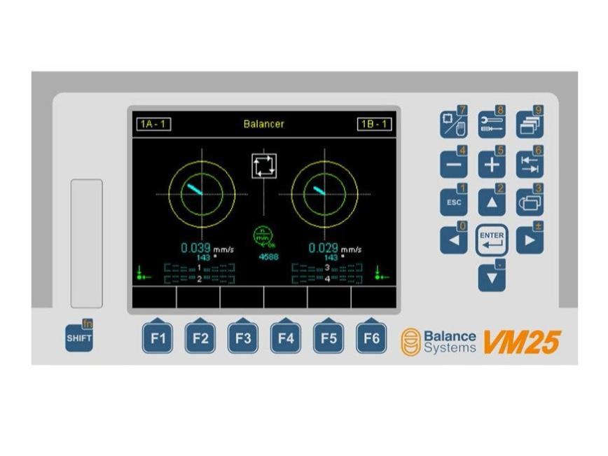 Logo VM25 - Choose the best process control systems  to realize your grindi
