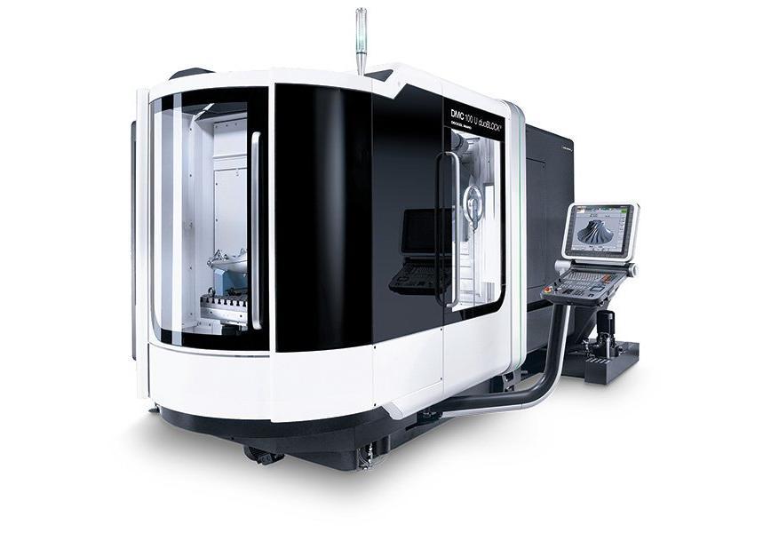 Logo Universal machining centre - DMC 100 U duoBLOCK®