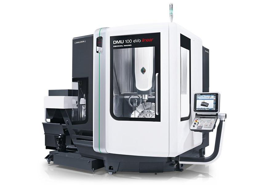 Logo Universal machining centre - DMU 100 eVo / linear