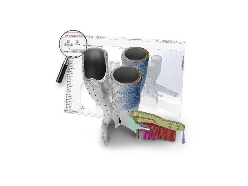 Logo Software for additive manufacturing - 3DXpert