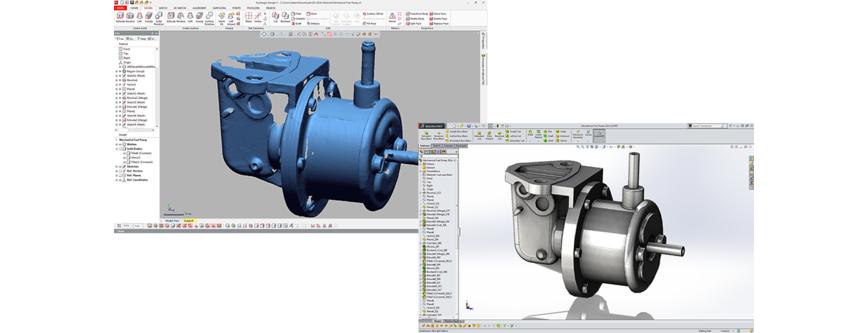 Logo CAD-Software - Geomagic Design X