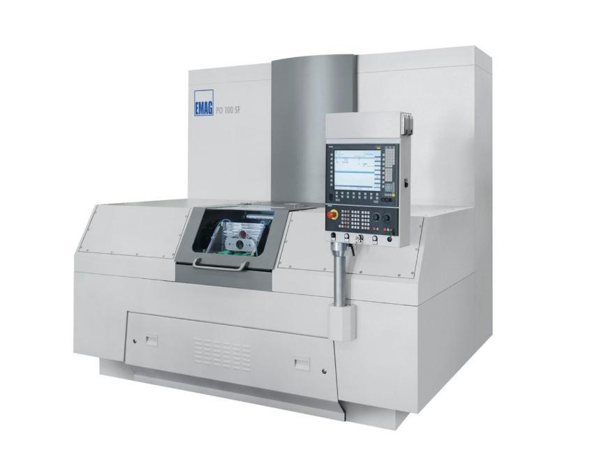 Logo (P)ECM Machine - PO 100 SF
