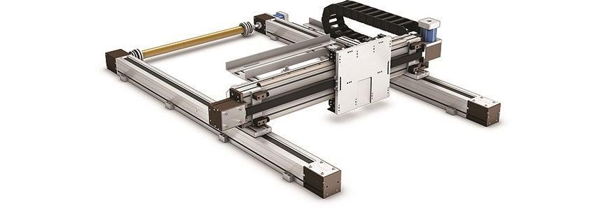 Logo Linearroboter, Portalroboter - Systemline- Multi Gantry