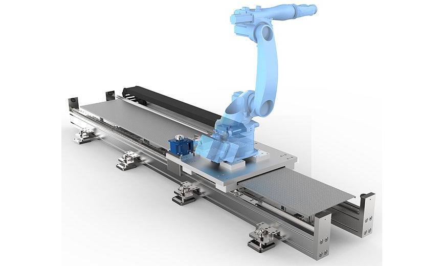 Logo Mobile Roboterplattform - Seventh Axis zum Verfahren von Robotern