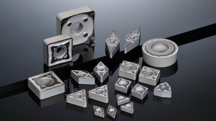Logo Insert for turning - AC8000P Series - Coated Grades for Steel Turning